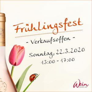 Frühlingsfest im WeinOutlet in Rhede