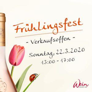 Frühlingsfest in Rhede. verkaufsoffener Sonntag.